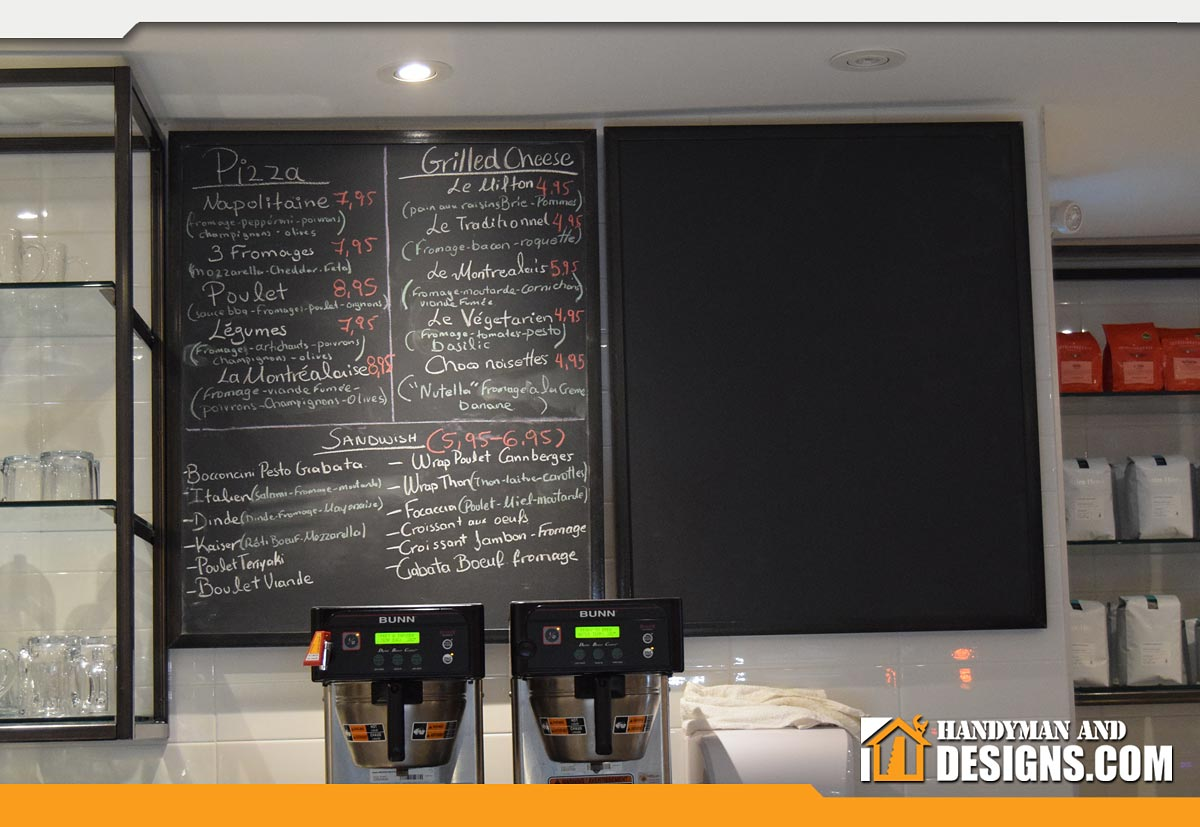 Chalkboard Menu Designs img-2