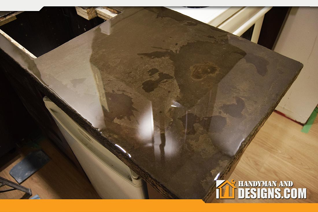 Faux Cement Counter-top img-1