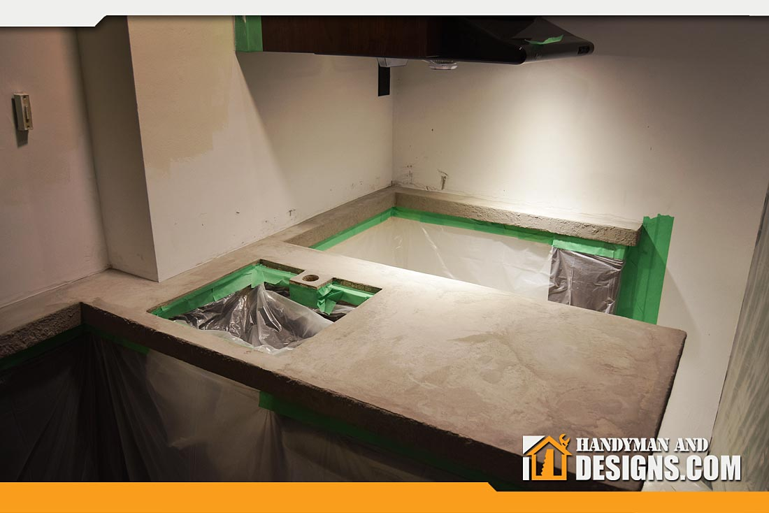 Faux Cement Counter-top img-4