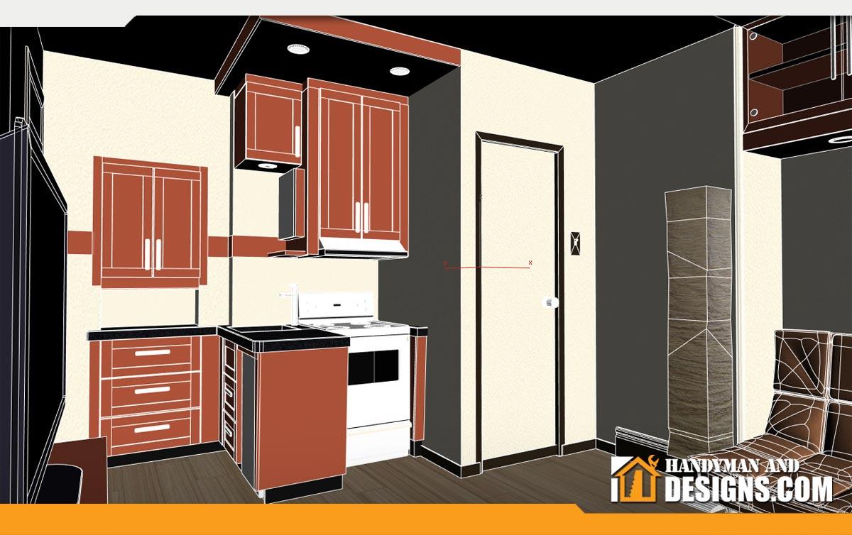 3D Graphic Room Design img-2