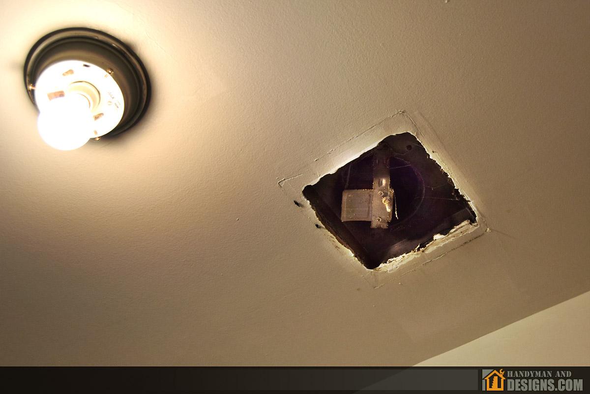 Repair of Bathroom Ceiling Fan and Air Duct img-10