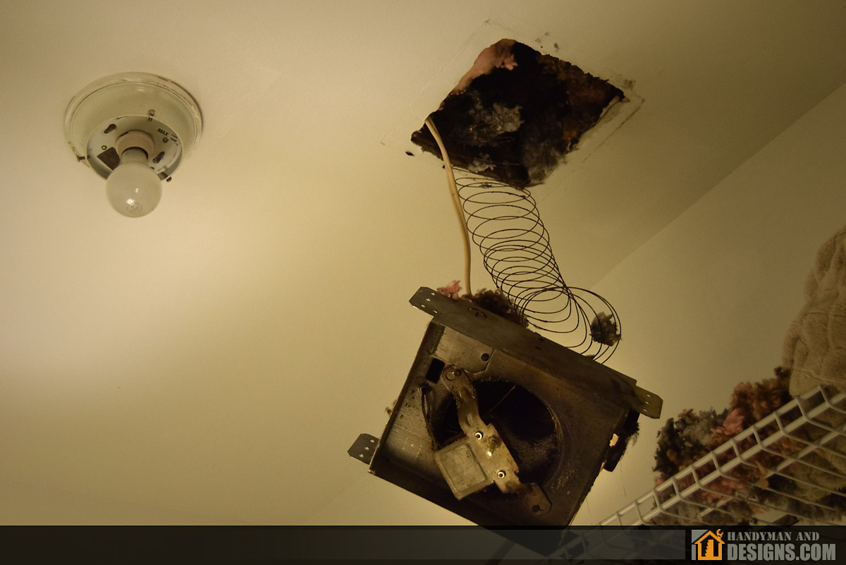 Repair of Bathroom Ceiling Fan and Air Duct img-9