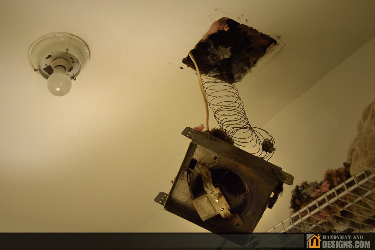 Repair of Bathroom Ceiling Fan and Air Duct img-9