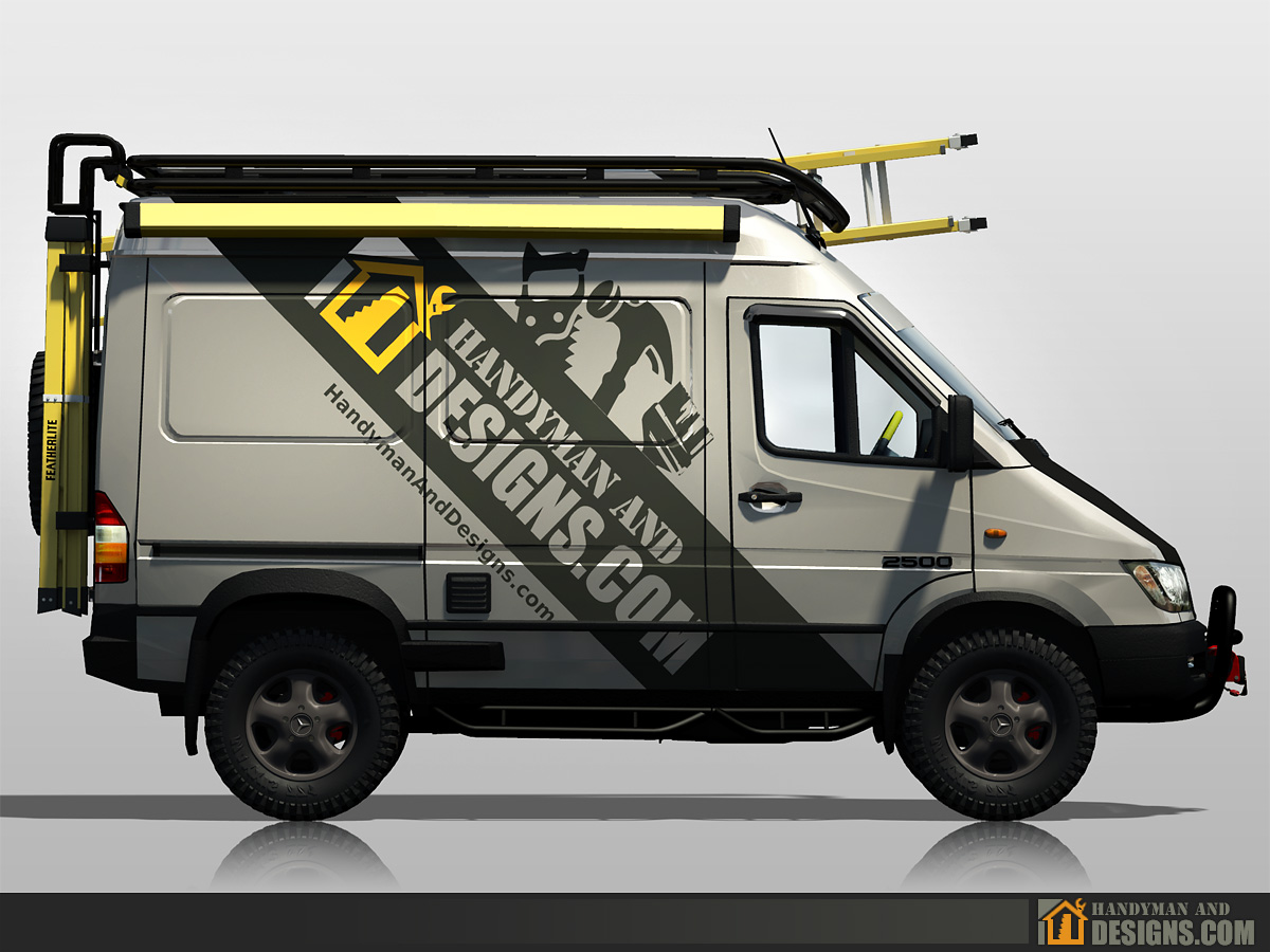 Dodge Sprinter Campervan 3D Design img-4