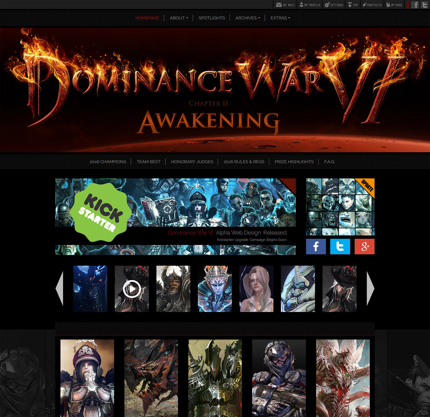 Dominance War bootstrap design img-2